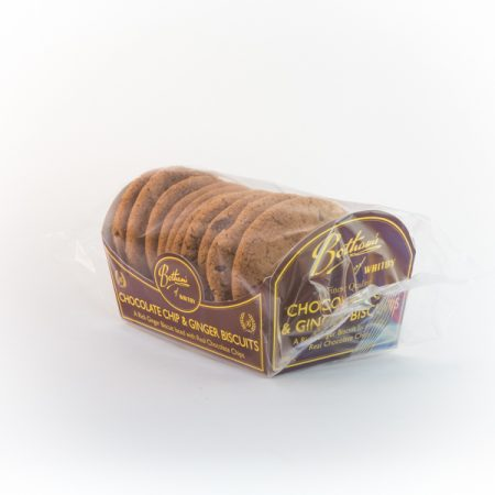 Choc Chip and Ginger Biscuits - 12x200g