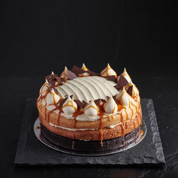 Chocolate Salted Caramel Cake - GF