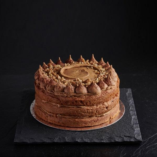 Cappuccino & Walnut Cake - GF