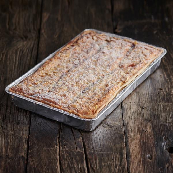 GF Raspberry & Almond Bakewell Slice - Traybake