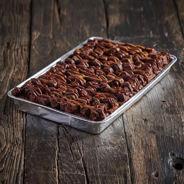 GF Ultimate Salted Chocolate Brownie - Traybake