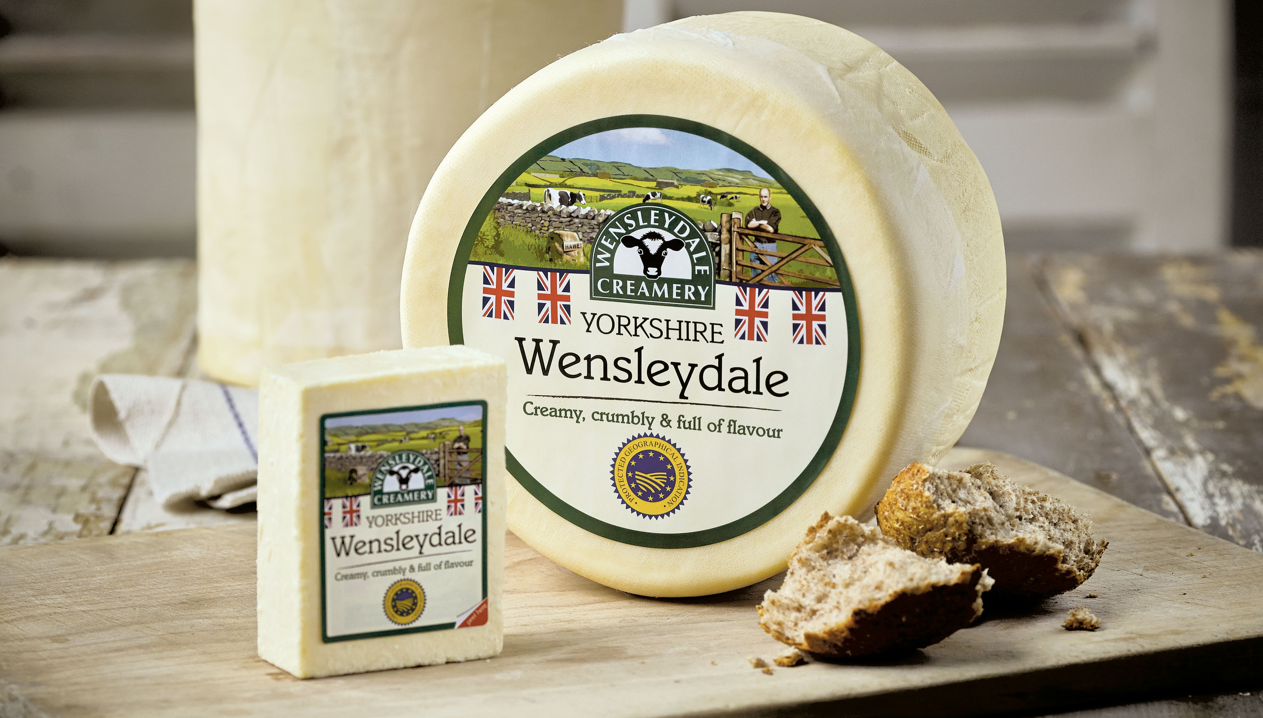 Wensleydale Creamery now available